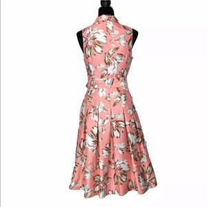 Jessica Howard Dresses - Jessica Howard 4 Dress Full Pleat Midi 50s Style S